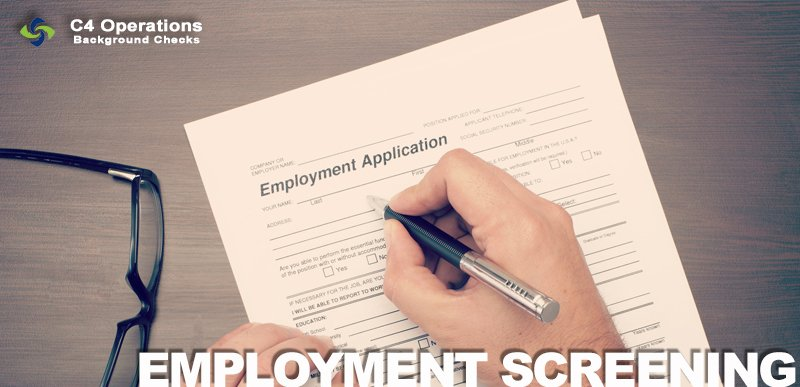 Pre-employment Screening from C4 Operations